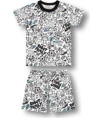 pijama marisol branco - kanui