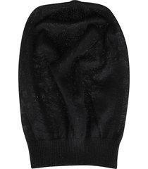rick owens black virgin wool performa hat