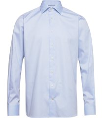 light blue water weave shirt overhemd business blauw eton