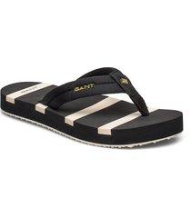 lemonbeach flip-flop shoes summer shoes flip flops svart gant