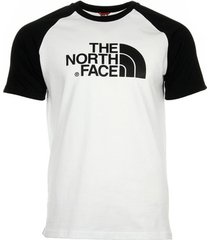 t-shirt korte mouw the north face raglan easy tee