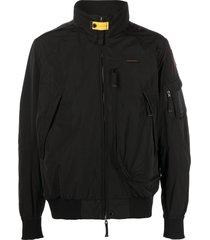 parajumpers fire spring bomber jacket - black