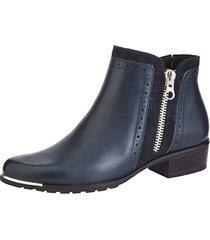 boots med utbytbar onair-fotbädd caprice marinblå