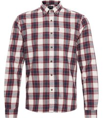 peter lt flannel checked shirt overhemd casual multi/patroon lexington clothing