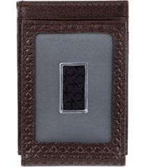 calvin klein men's micro ck front pocket wallet