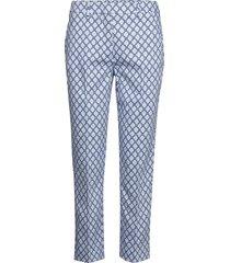 cabras pantalon met rechte pijpen blauw weekend max mara