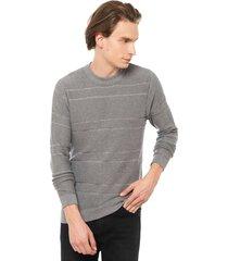 sweater alden gris selected - calce regular