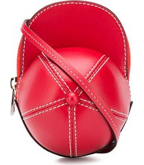 jw anderson mini cap crossbody bag - red