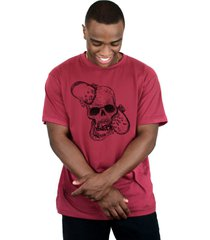 camiseta ventura nuts vinho - kanui