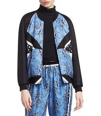 floral patchwork jacket