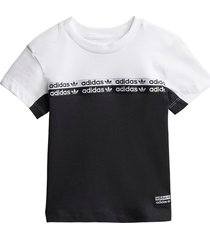 bicolor jersey t-shirt