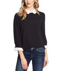 cece peter-pan collar top