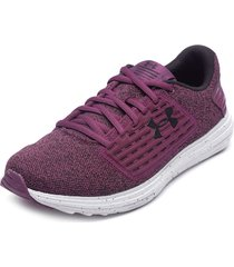 zapatilla ua w surge se twist morado under armour