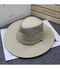 cappellino antivento traspirante per parasole da viaggio con cappuccio da jazz traspirante da uomo