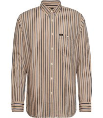 rivited shirt overhemd casual crème lee jeans