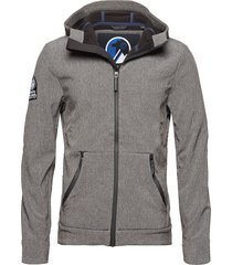 mountaineer softshell dun jack grijs superdry