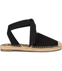 alpargata casual para mujer nine west more2 - negro