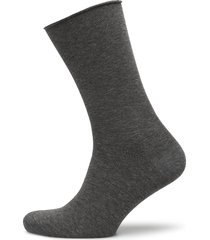 ladies thin ankle sock lingerie hosiery socks grå decoy