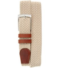 men's magnanni nadal belt, size medium - taupe / cognac