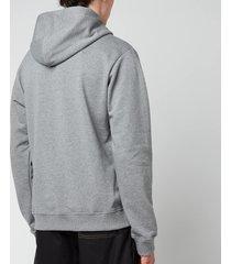 kenzo men's tiger original hoodie - dove grey - xs