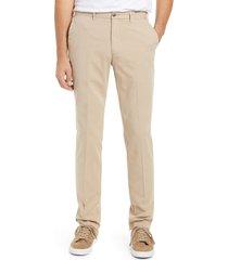 men's peter millar crown fleece flat front pants