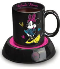 disney minnie mouse mug warmer with 10 ounce mug