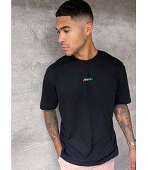 mens berlin rainbow t-shirt in black