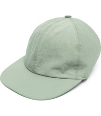 a kind of guise embroideed baseball cap - green