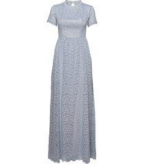 claire dress bröllopsklänning blå by malina