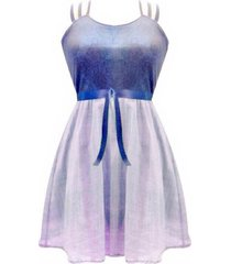 vestido tiras sarab /v003ap-azul