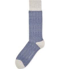 cole haan men's herringbone dress socks