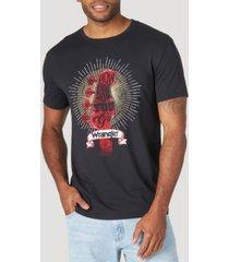wrangler men's short sleeve graphic t-shirt