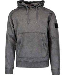 stone island 100% cotton sweatshirt