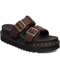 myles ii shoes summer shoes flat sandals brun dr. martens