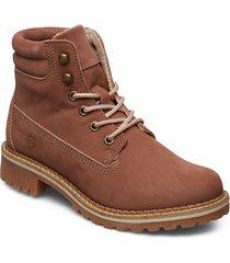 boots shoes boots ankle boots ankle boots flat heel brun tamaris