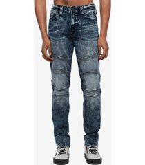 true religion men's geno moto slim fit jean