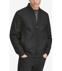 marc new york men's barlow wool bomber jacket
