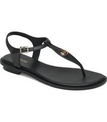 mallory thong shoes summer shoes flat sandals svart michael kors