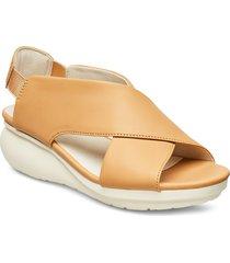 balloon shoes summer shoes flat sandals beige camper
