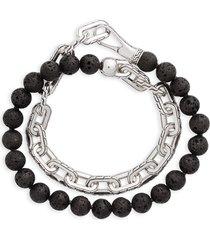 men's john hardy classic chain double wrap bracelet