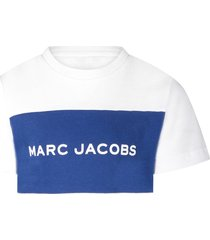 little marc jacobs white boy t-shirt with logo