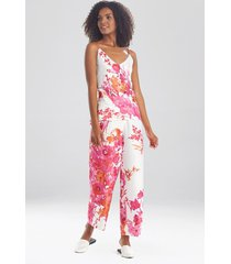 natori bloom cami pajamas, women's, size l sleep & loungewear