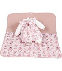 saída de maternidade beth bebê nádia luxo vestido rosa