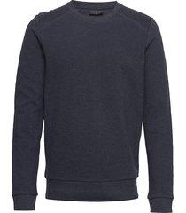 bs blanc sweat-shirt tröja blå bruun & stengade