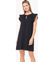 lilla p tie front dress