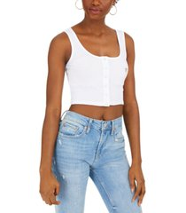 guess eco crop tank top