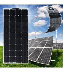 el panel solar semi flexible elfeland 120w 12v a-class monocristalino + 1.5m cable - no especificado