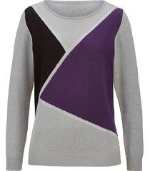 tröja paola svart::grå::lila