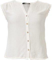 womens naomi sleeveless lace trim top