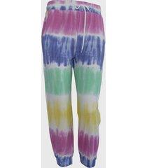 pantalon buzo teen  jogger tie dye turquesa family shop